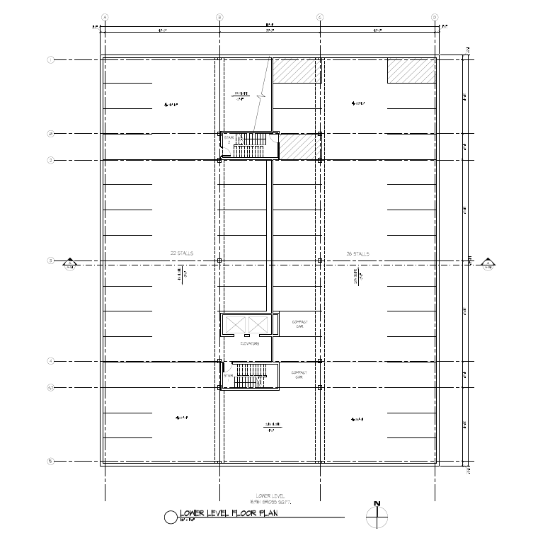 The Professional Center - Lower Level Floor Plan