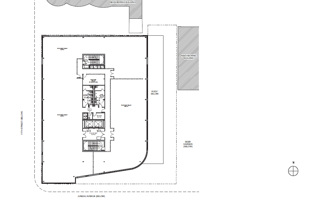 Pabst Business Center Fourth Floor Plan
