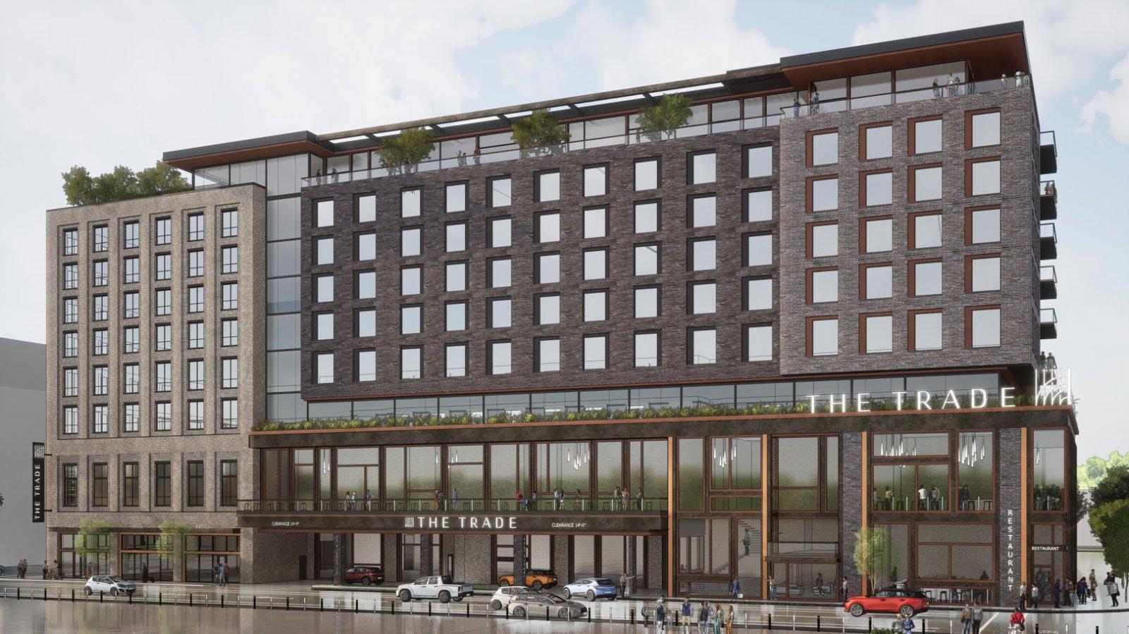 The Trade Milwaukee Hotel Rendering
