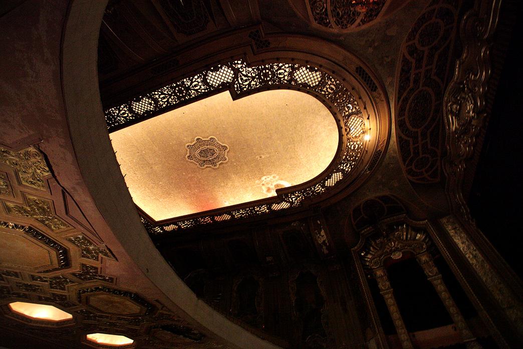 Grand Warner ceiling.