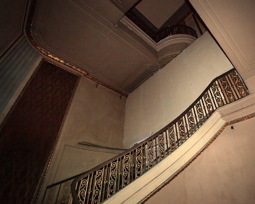Grand Warner staircase.