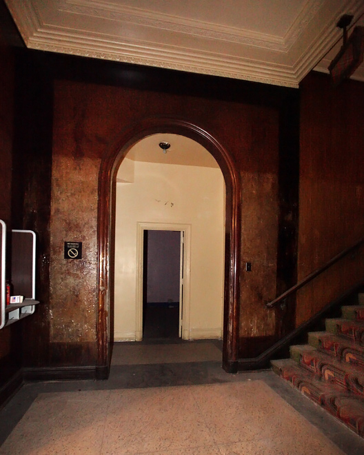 Grand Warner staircase.