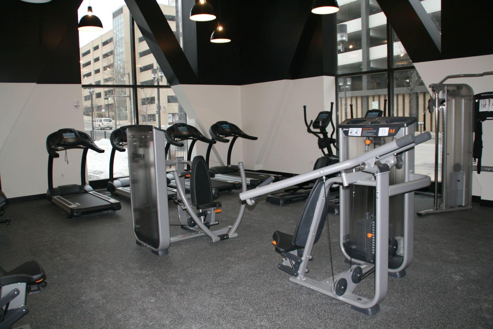 Large Fitness Center