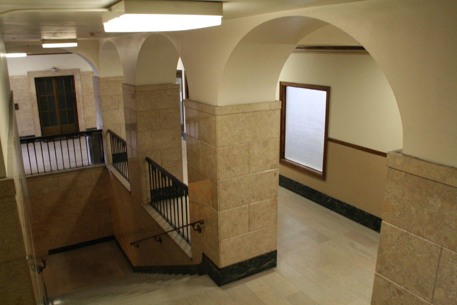 Century Building Stairs