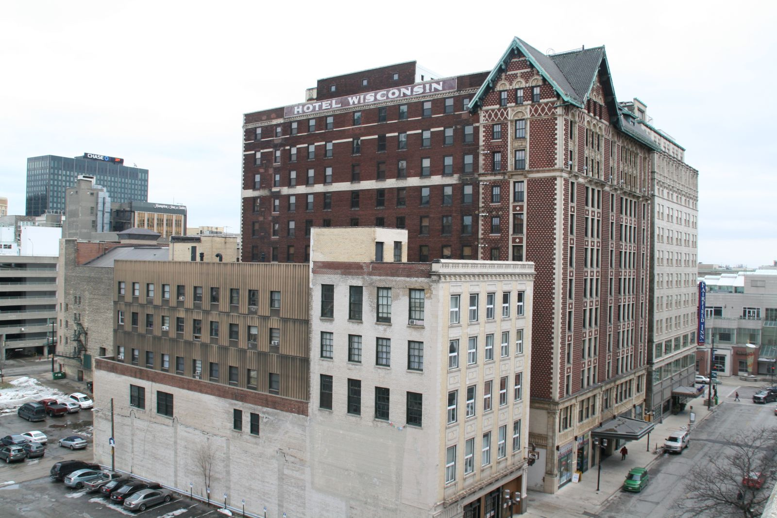 730 N. Old World Third St. and Hotel Wisconsin