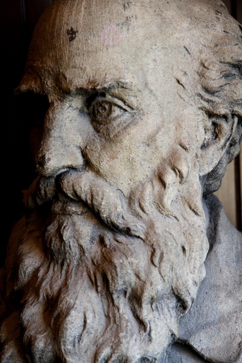 Statue inside Turner Hall.