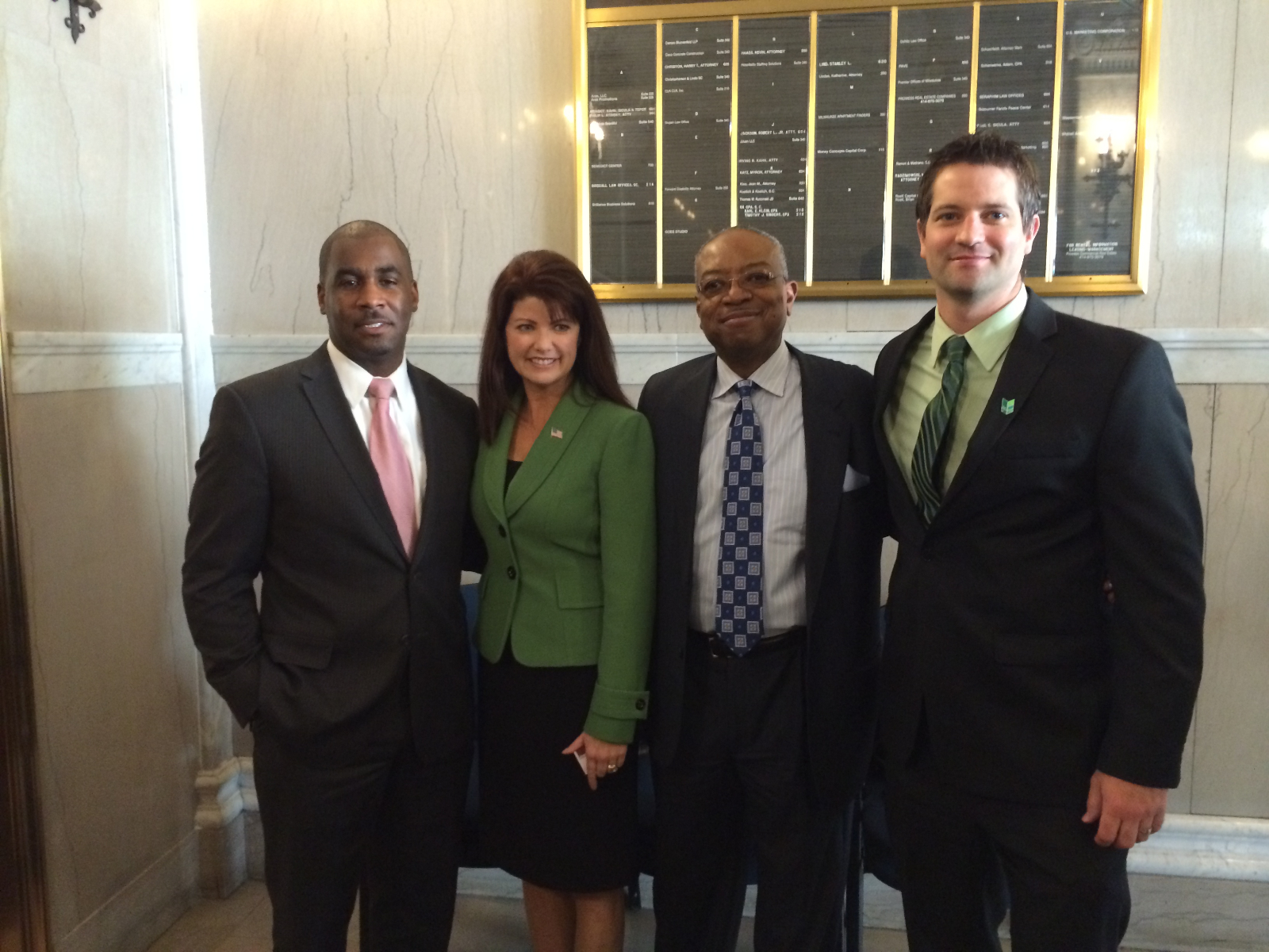 Haywood, Kleefisch, Winston, and O\'Brien