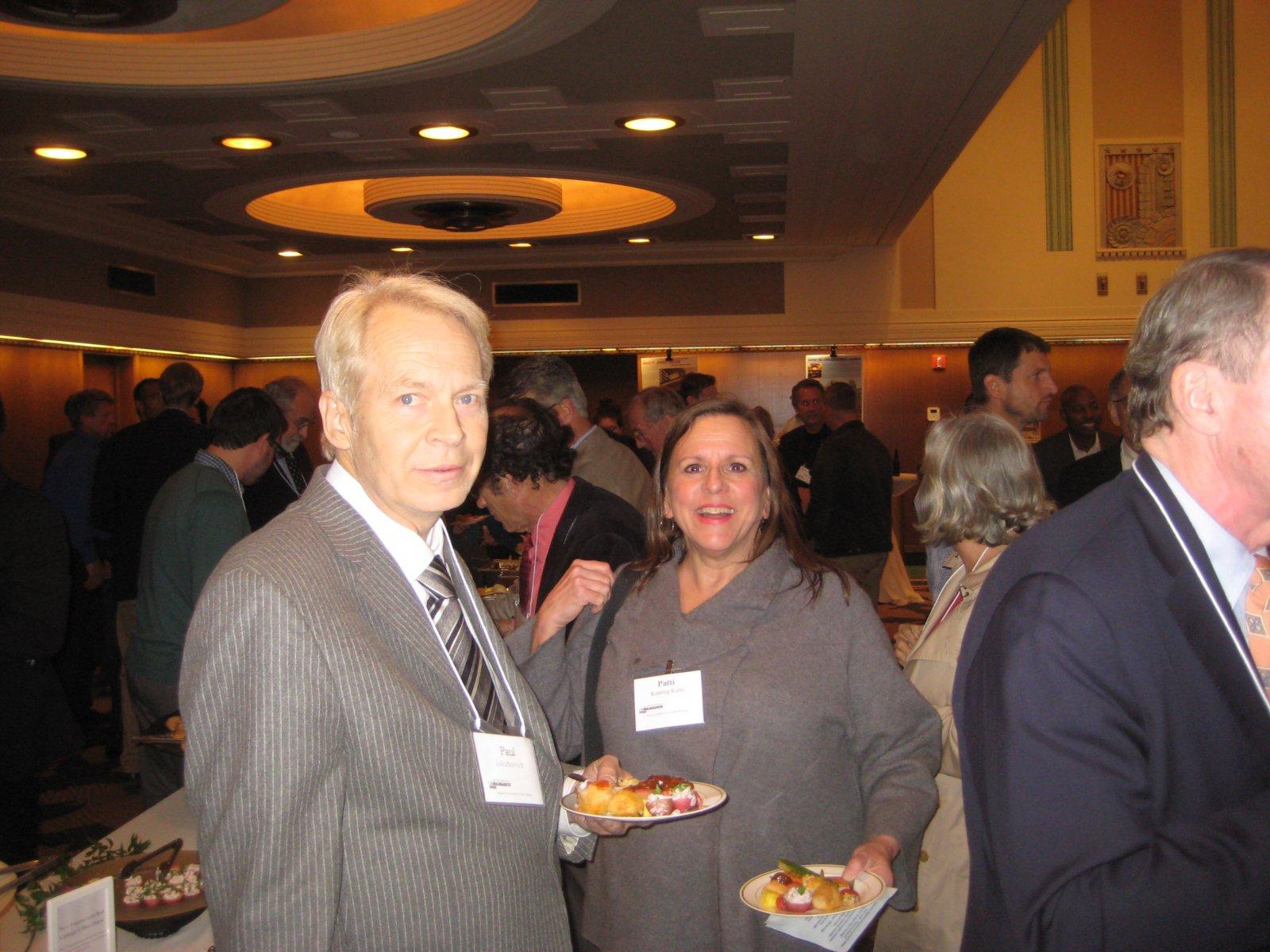 Paul Jakubovich and Patti Keating Kahn.