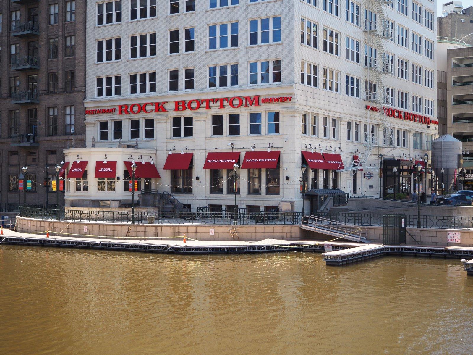 Rock Bottom Brewery at River Bank Plaza