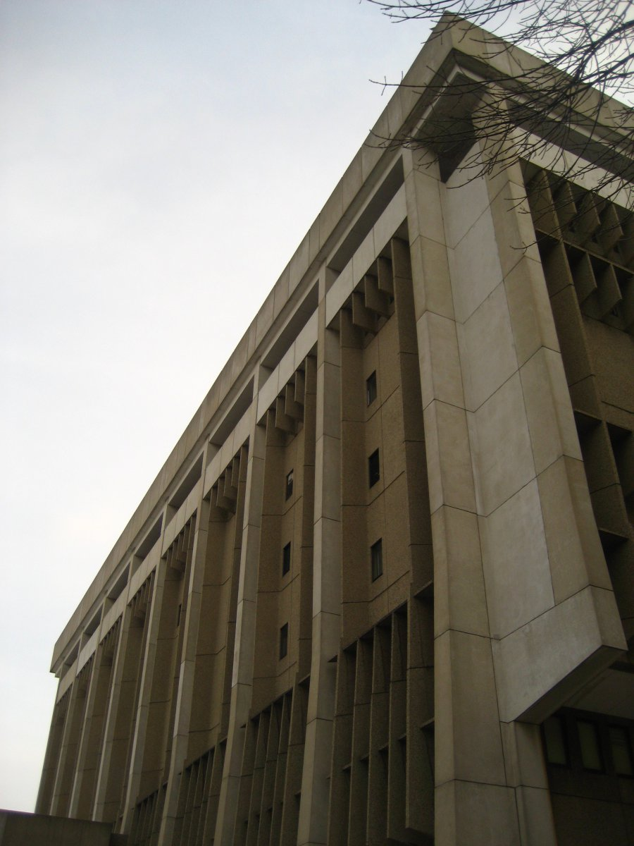 Police Administration Building, 951 N. James Lovell St.