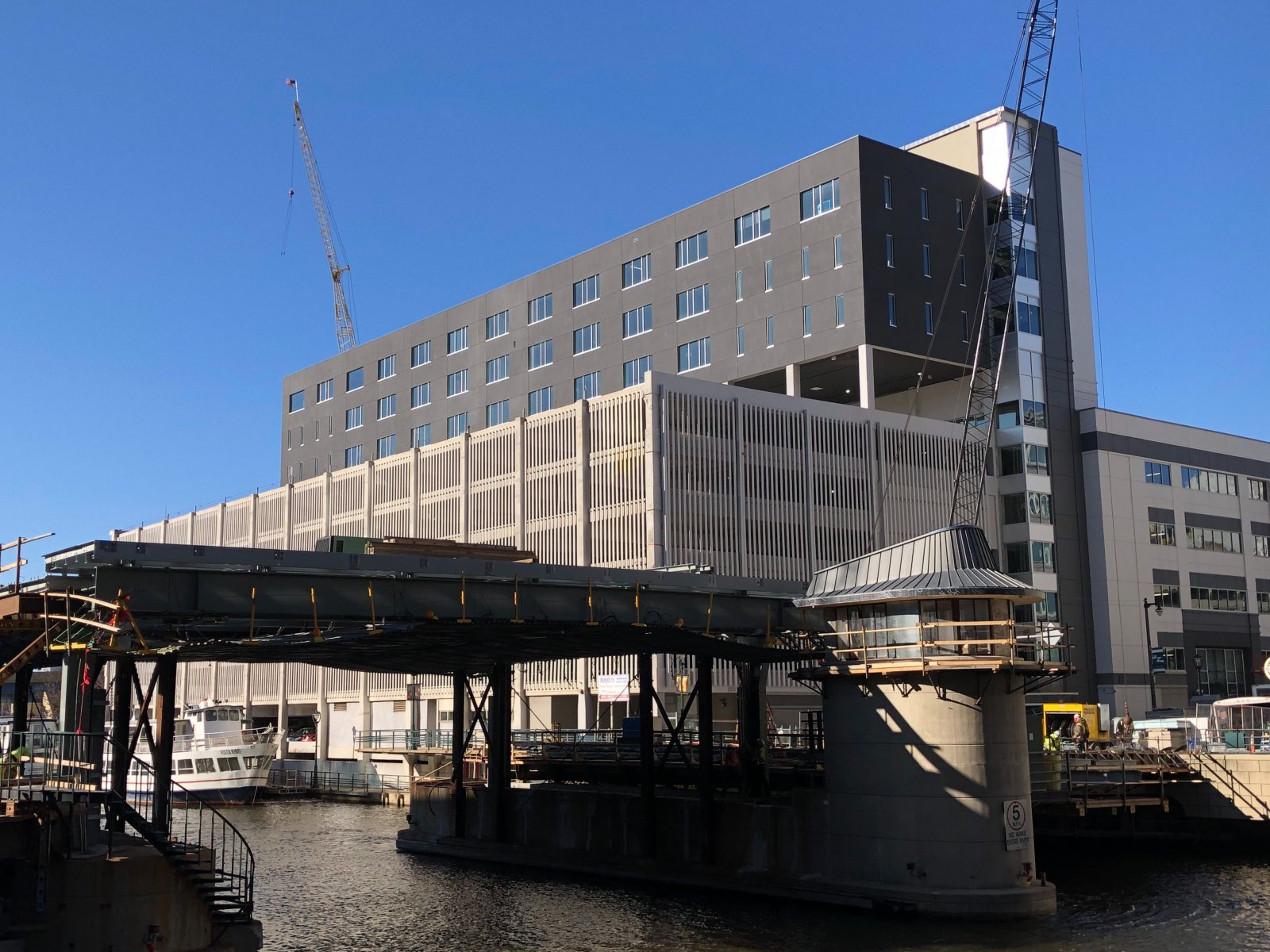 Rexnord Construction and Michigan Street Bridge Rebuild