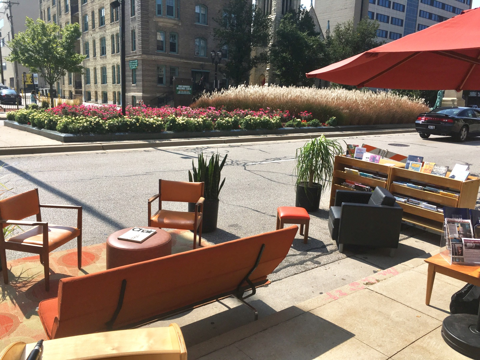 Central Library PARK(ing) Day