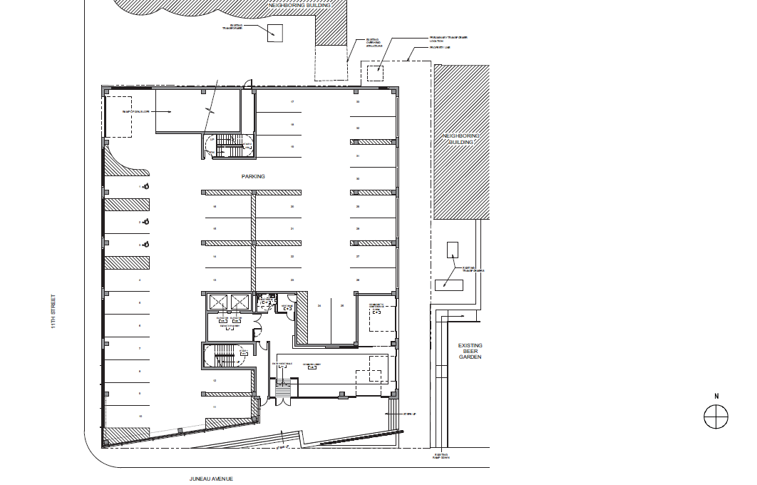 Pabst Business Center Main Level Floor Plan