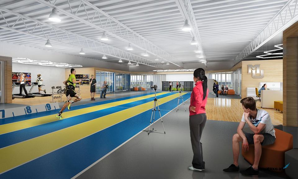 Marquette Athletic Research Facility. Research Center.