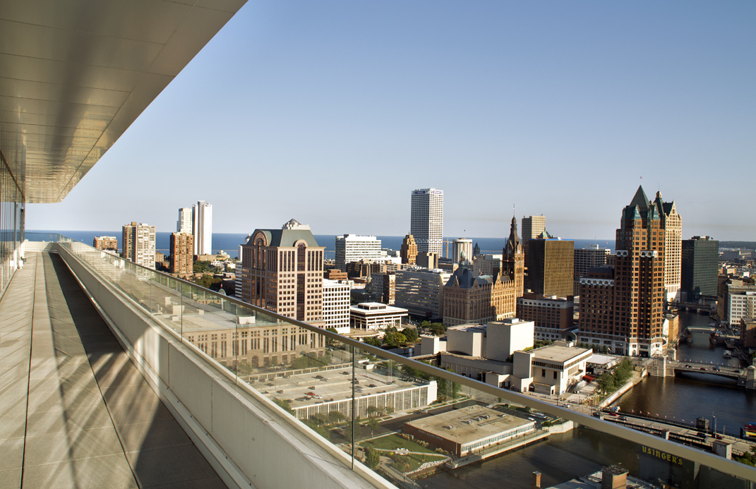 View from The Moderne\'s signature penthouse.