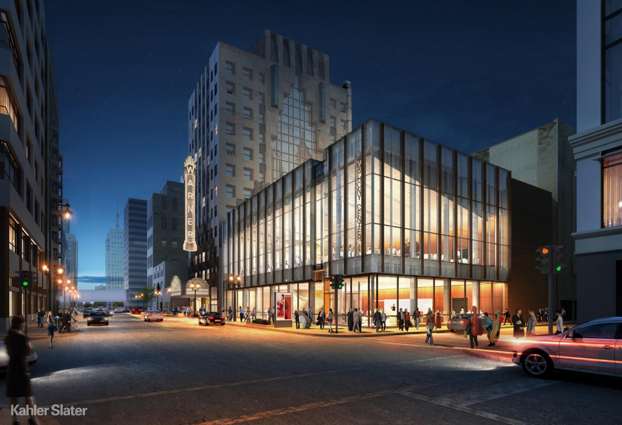 Warner Grand Theatre Rendering - Milwaukee Symphony Orchestra