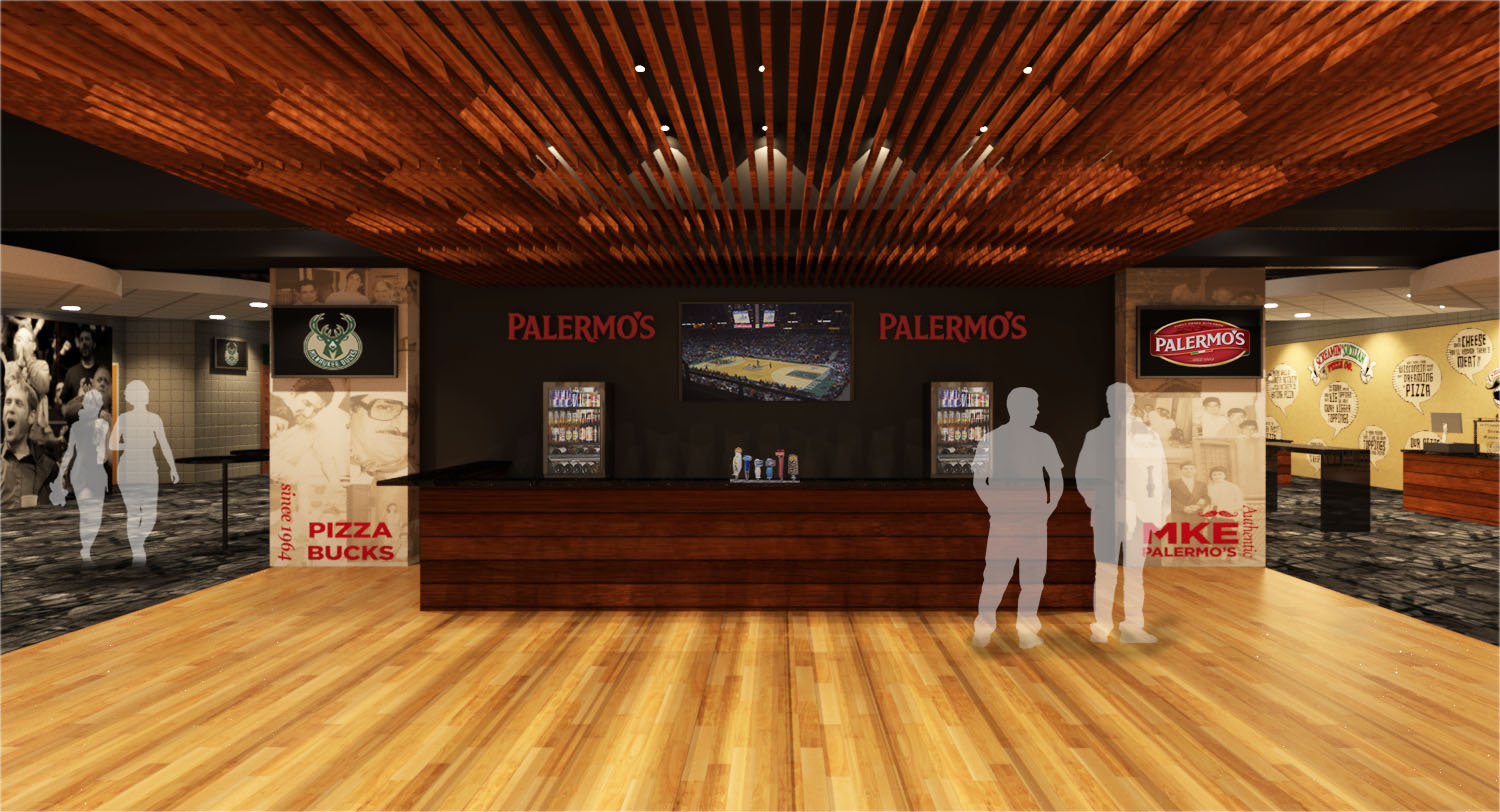 Palermo's Courtside Club Rendering