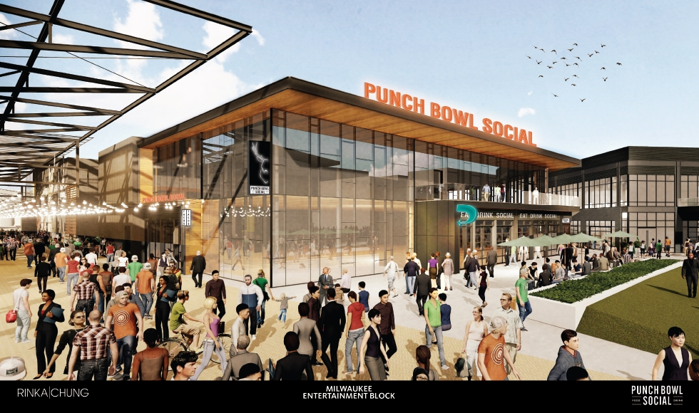 Punch Bowl Social Rendering
