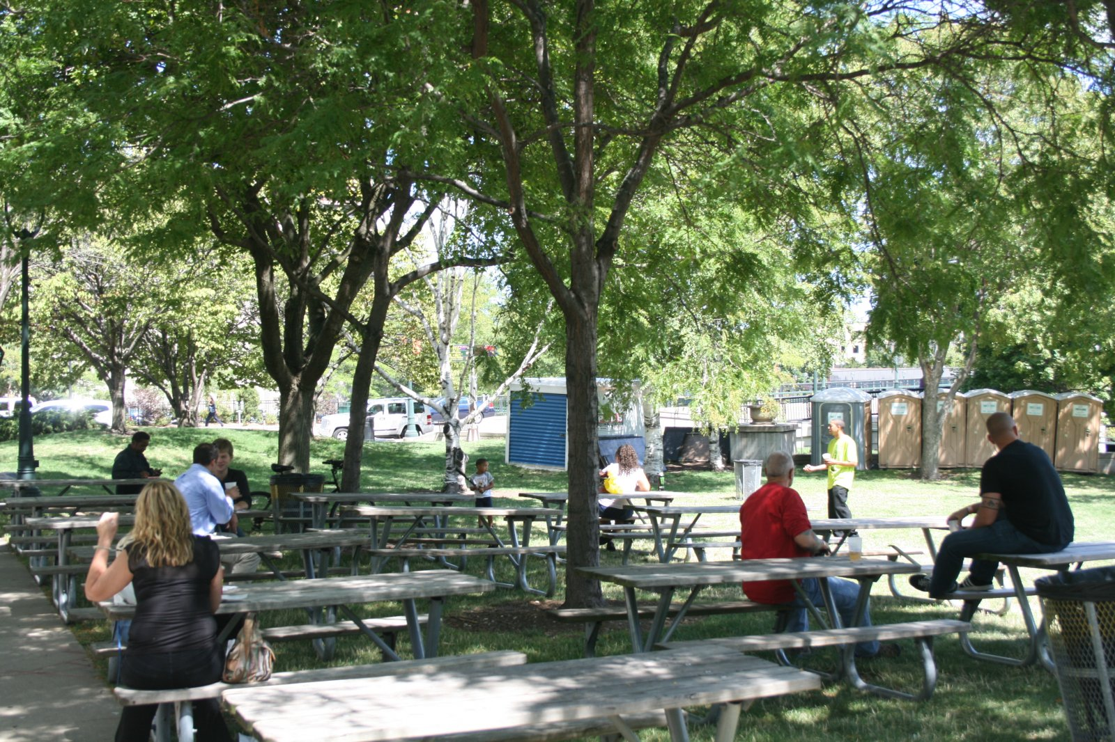 Pere Marquette Beer Garden