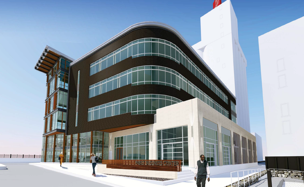 Pabst Business Center Rendering Looking Northwest