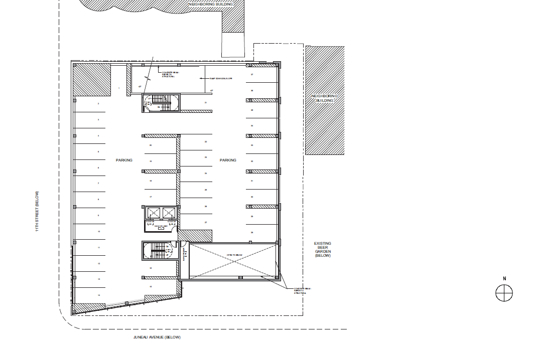 Pabst Business Center Second Floor Plan