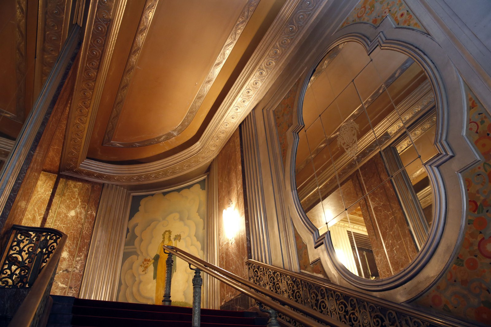 Stairway in the Grand Warner Theater