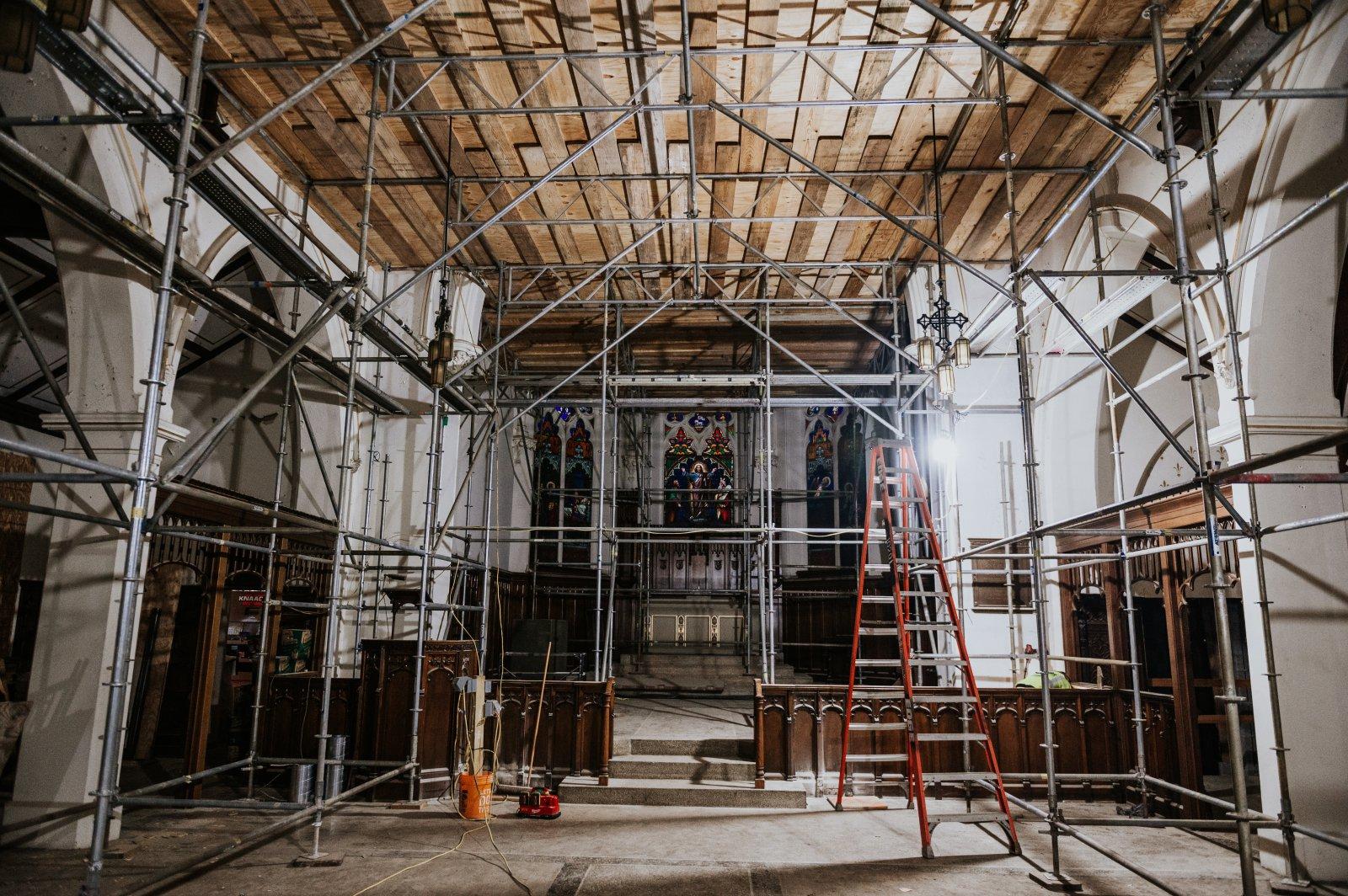 St. James Church - During Renovation