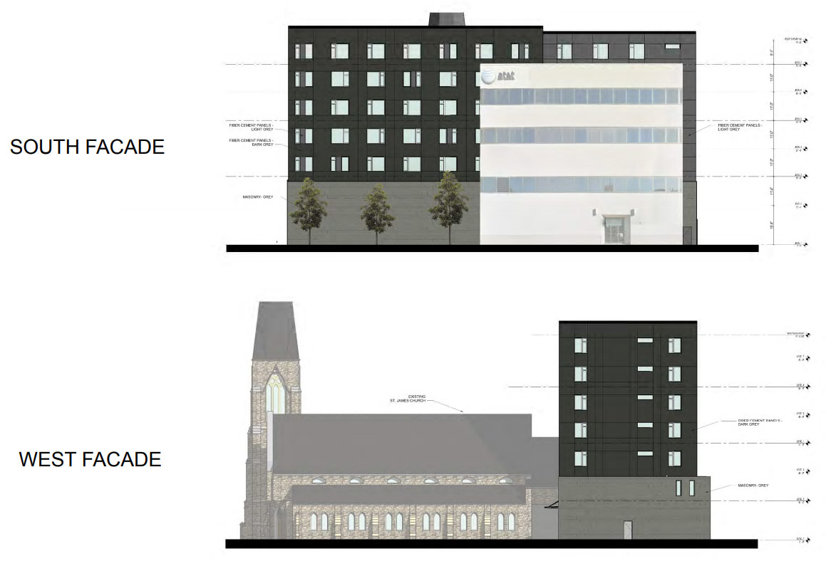 St. James Church Plans