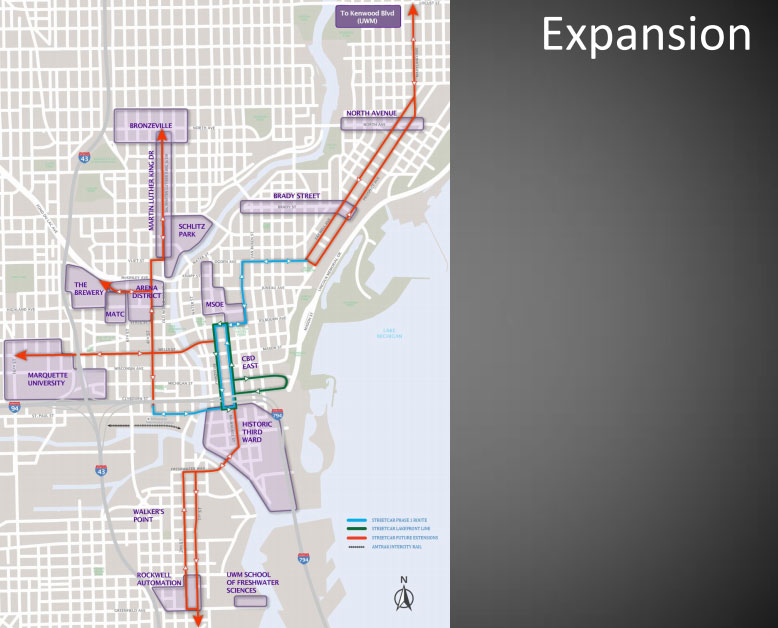 Future Streetcar Expansions