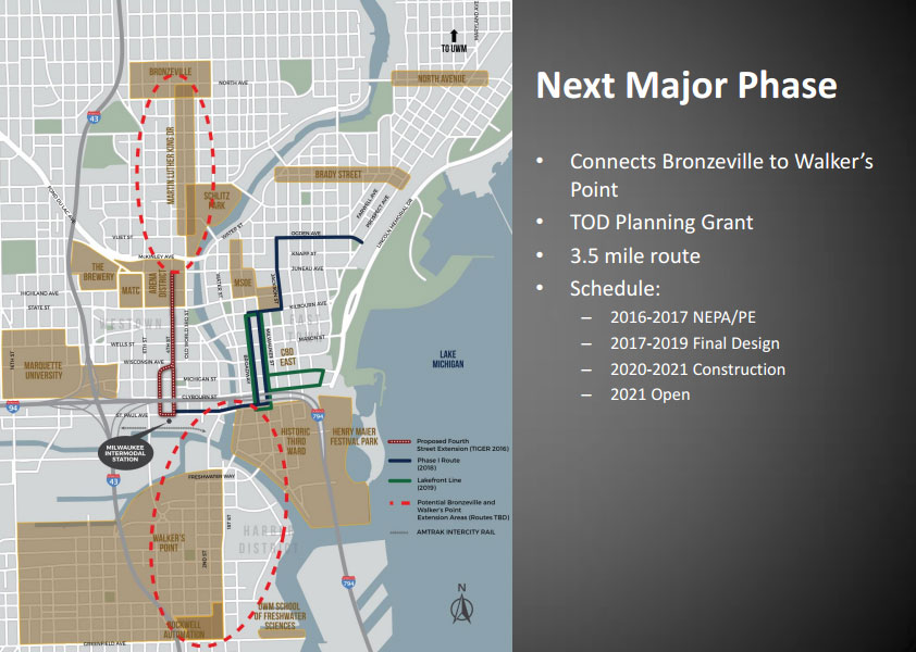 Bronzeville and Walker\'s Point Extension