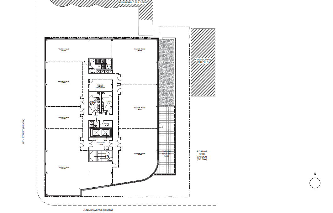 Pabst Business Center Third Floor Plan
