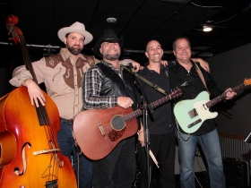 JP Cyr, Brian Smith, Scottie Kallenbach and Bulgrin from Gods Outlaw