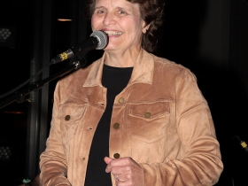 Sue Baker, Program Director for the Les Paul Foundation