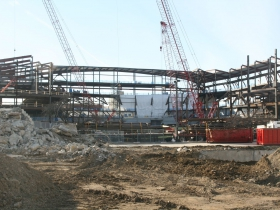 Bucks Arena Construction