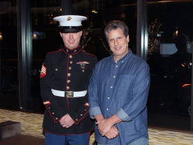 Sgt. Nicholas Ranum, Marine Corps with Glenn Aveni, Icon film producer from Tanner Monagle Music