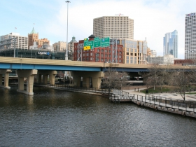 Interstate 794 and Downtown Milwaukee