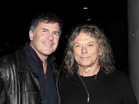 Brad Smith from Hal Leonard and musician/producer, Jerry Harrison of the Talking Heads.