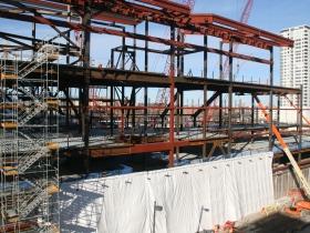 Bucks Arena Construction
