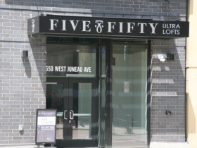 Five Fifty Ultra Lofts Lobby