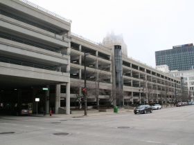 Shops of Grand Avenue Parking Garage