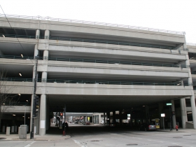 Cross-Street Parking Garage