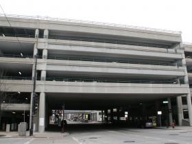 Cross-Street Parking Garage