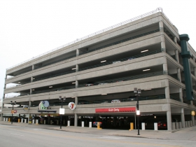 Large Parking Garage