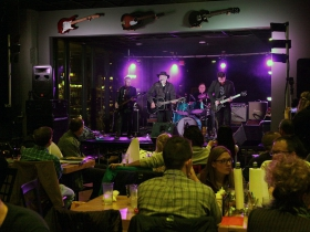 The 'Guitars for Vets' veterans day celebration at Doc's Smokehouse