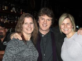 Heidi Grassberger, Rick Hagopian, drummer of Torn Soul and Erin Galemba