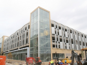 New Arena Parking Structure
