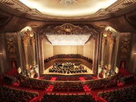 Rendering of the MSO's new Grand Warner Theater.
