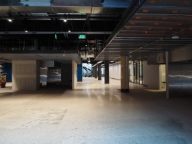 Future Tenant Spaces at 3rd Street Market Hall