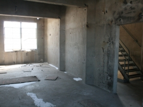 Inside of Pabst Silos