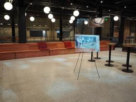 Indoor Turf Area at 3rd Street Market Hall